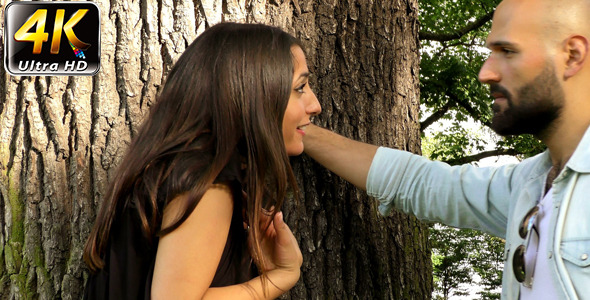 VideoHive Couple Had an Argument near the Tree 11863931