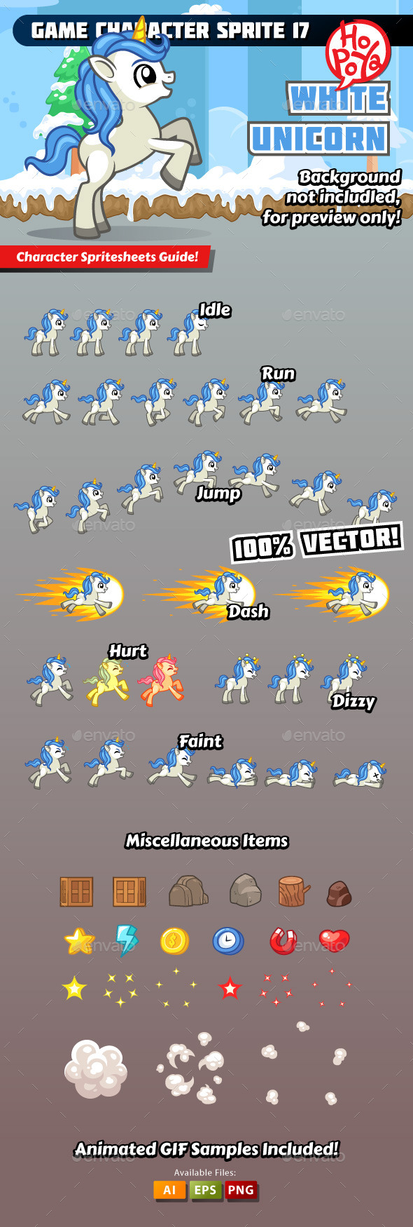 GraphicRiver Game Character Sprite 17 11864141