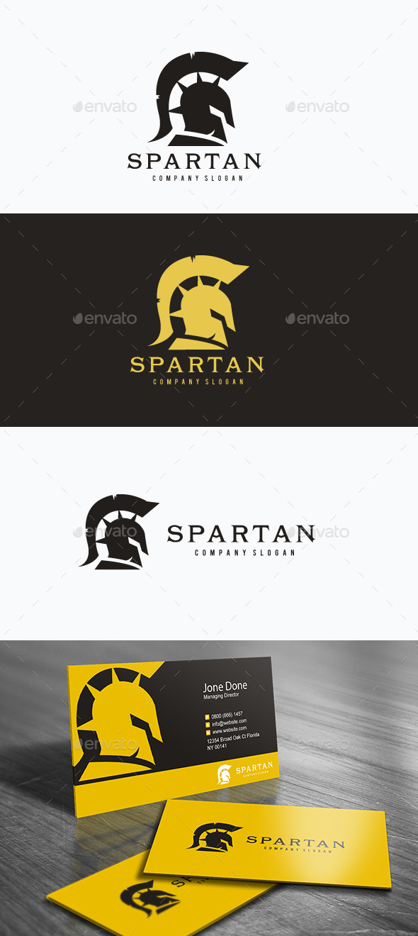 GraphicRiver Spartan 11864387