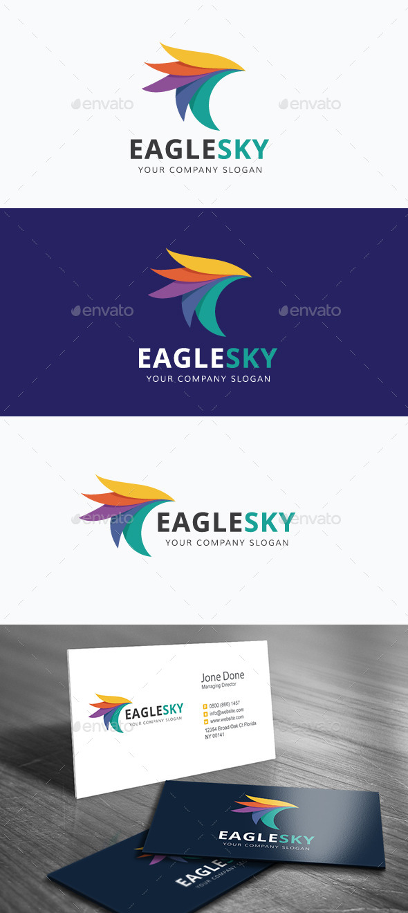 GraphicRiver Eagle Sky 11865095