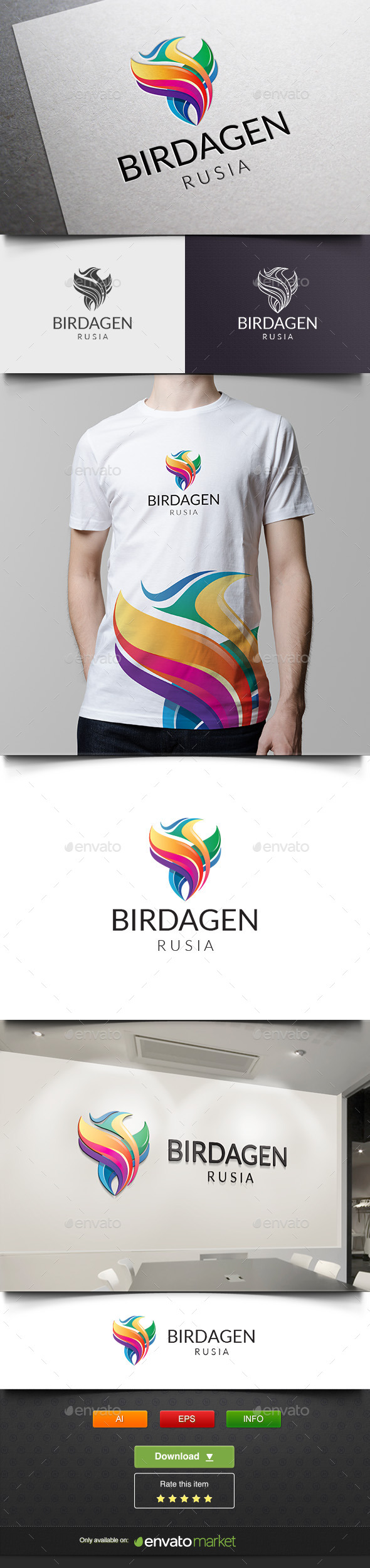 GraphicRiver Bird Media Agency 11865129