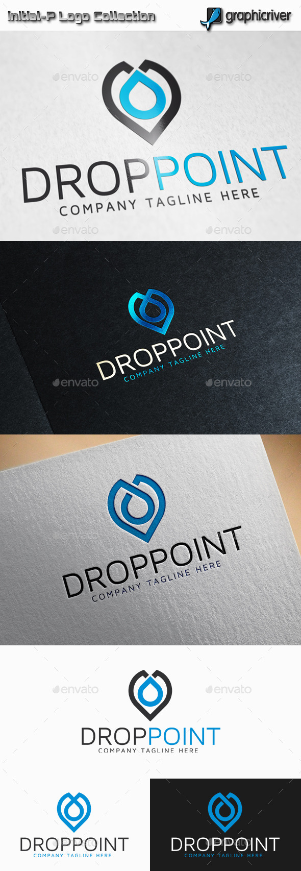 GraphicRiver Drop Point Logo 11865178