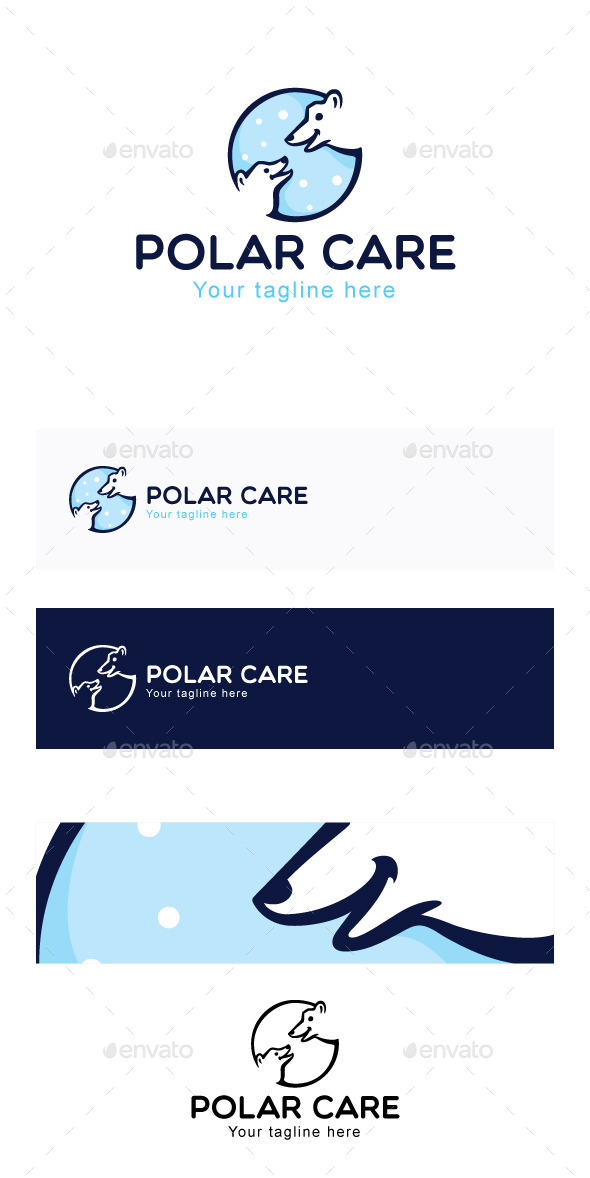 GraphicRiver Polar Care Stock Logo Template 11865844