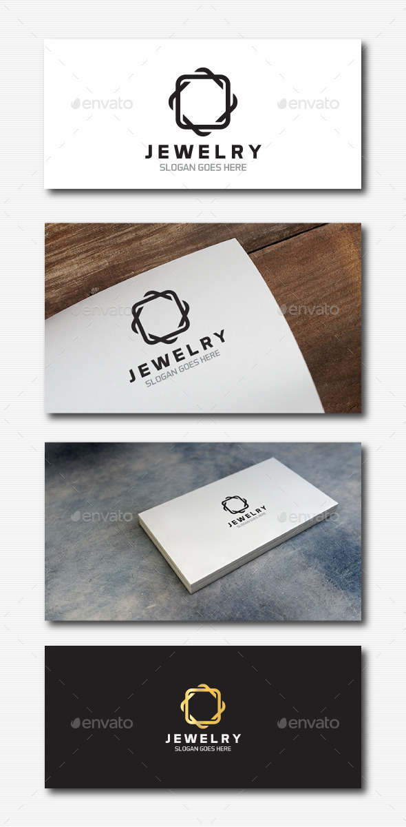 GraphicRiver Square Jewelry Logo 11866003