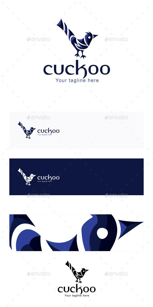 GraphicRiver Cuckoo Stock Logo Template 11866005