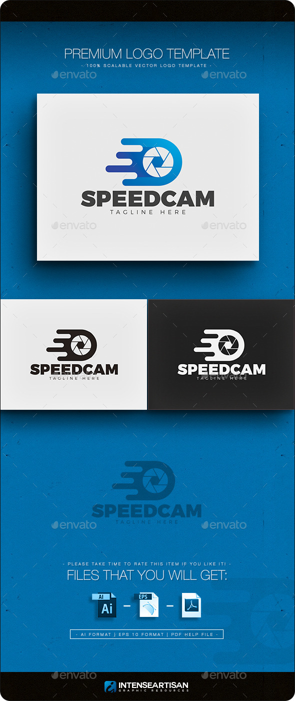 GraphicRiver Speed Cam Logo 11866119