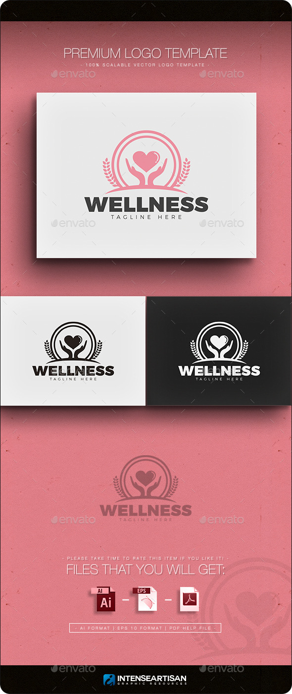 GraphicRiver Wellness Logo 11866154
