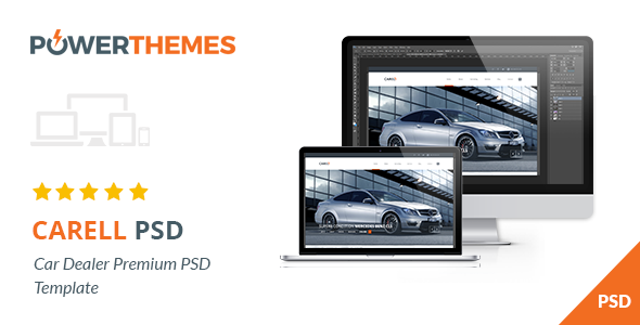 Carell - Premium Car Dealership PSD Template