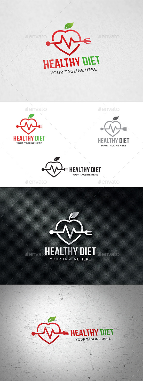 GraphicRiver Healthy Diet Logo Template 11866638