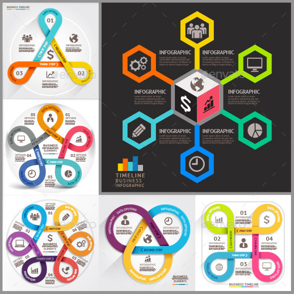 GraphicRiver Business Infographic Template 11866701
