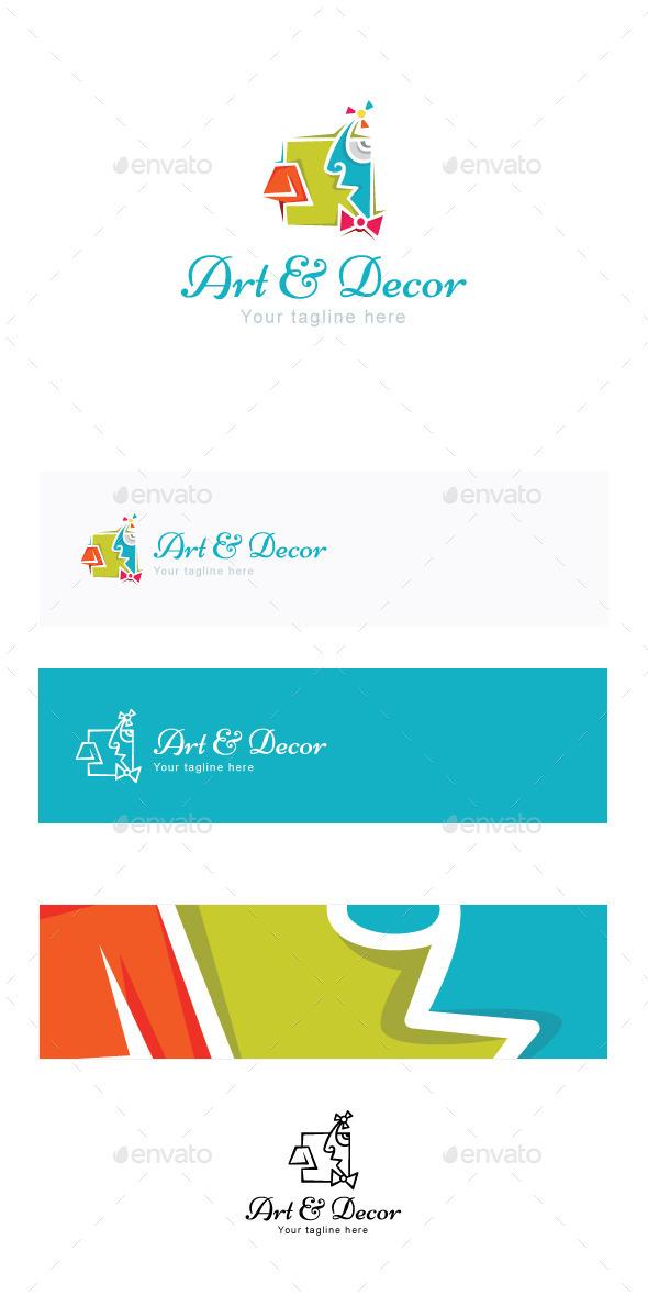 GraphicRiver Art and Decor Stock Logo Template 11866736