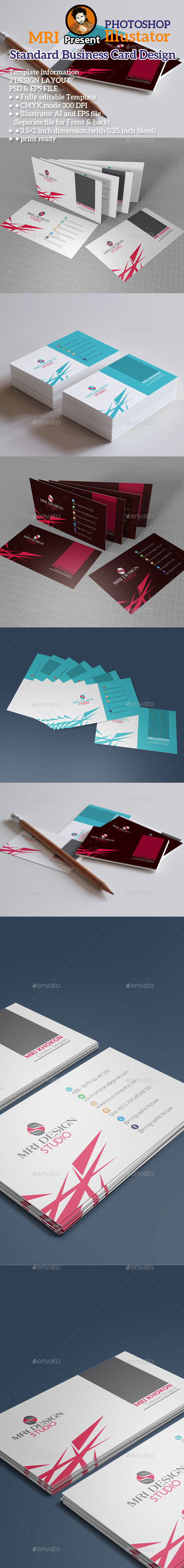 GraphicRiver Standard Business Card 11866790