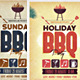 Holiday BBQ Party Flyer - GraphicRiver Item for Sale