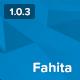 Fahita - Minimal WordPress Blog Theme - ThemeForest Item for Sale