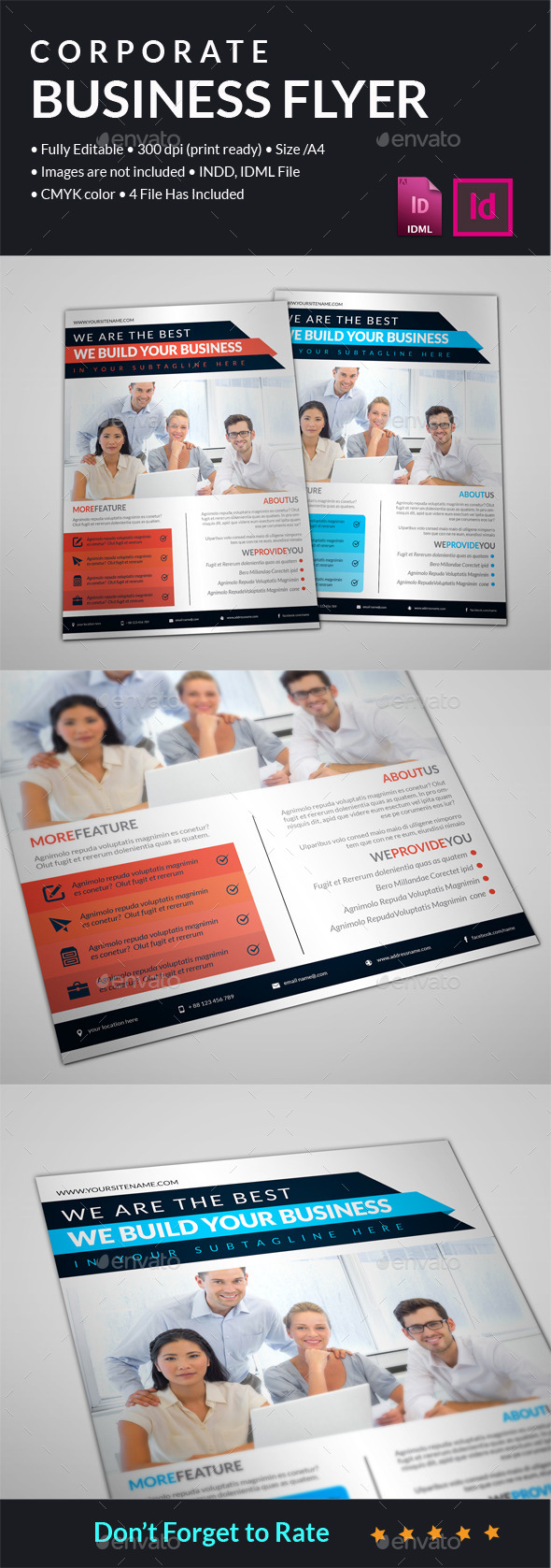 GraphicRiver Corporate Business Flyer 11867630