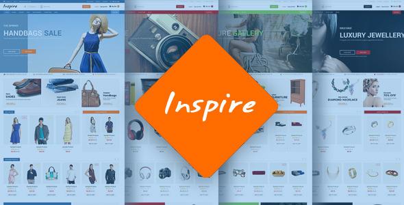 ThemeForest Inspire Responsive Multipurpose HTML5 Template 11867638
