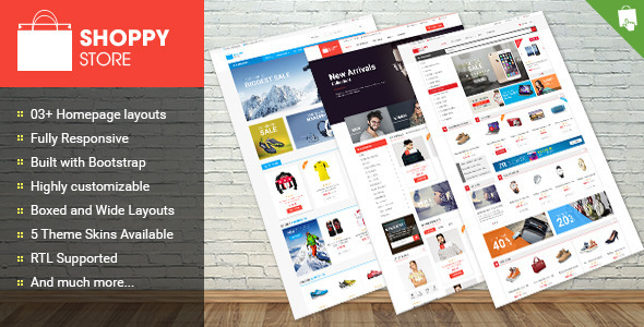 Shoppy Store – Responsive Prestashop Theme (Shopping) Download