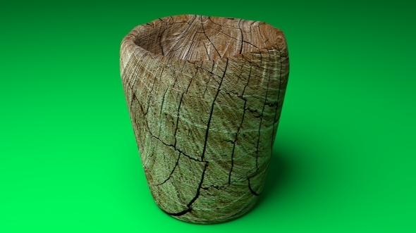 3DOcean Wooden Cup 11868685