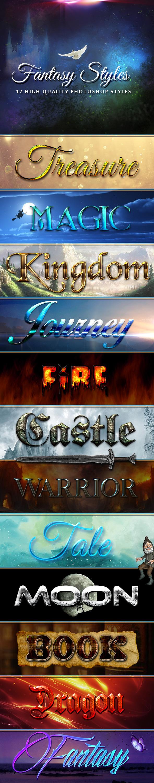 GraphicRiver 12 Fantasy Styles 11868786