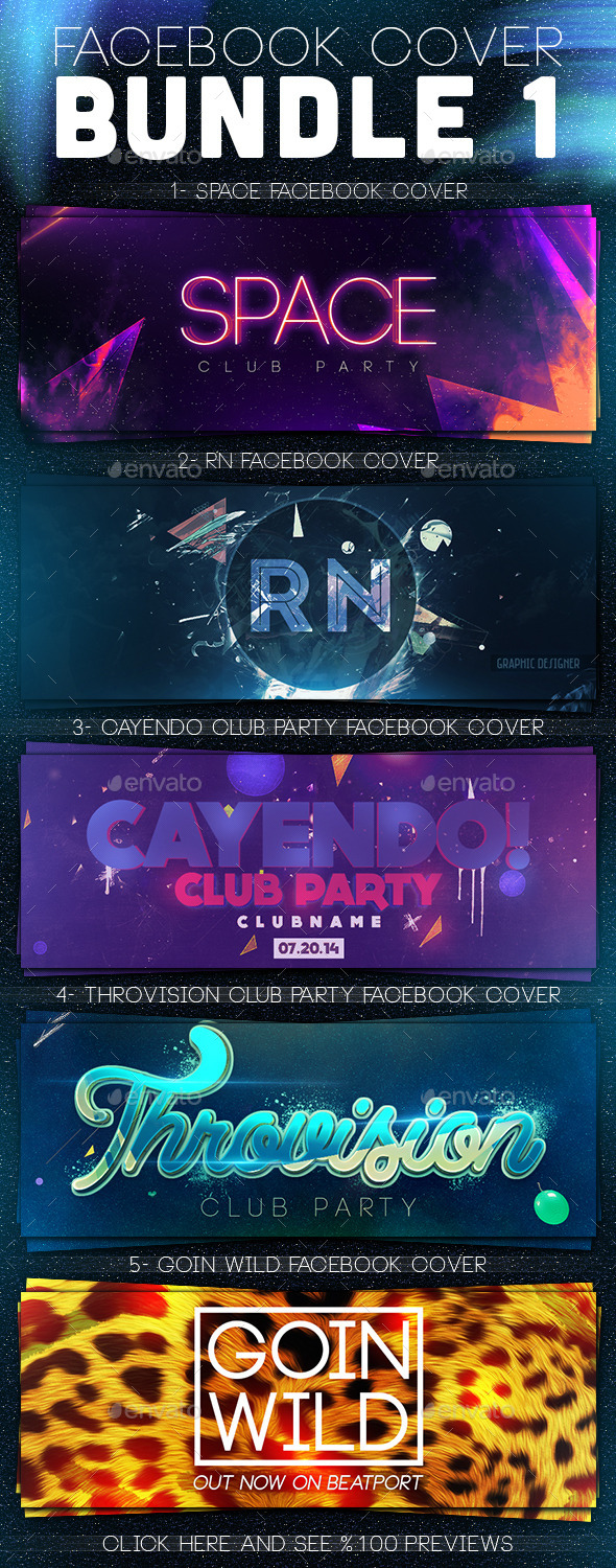 GraphicRiver Facebook Timeline Covers Bundle 1 11868817