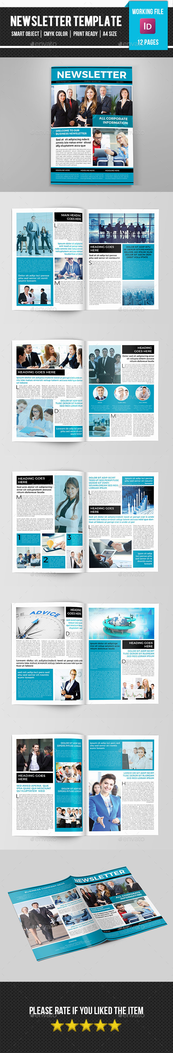 GraphicRiver Corporate Newsletter-V08 11868883