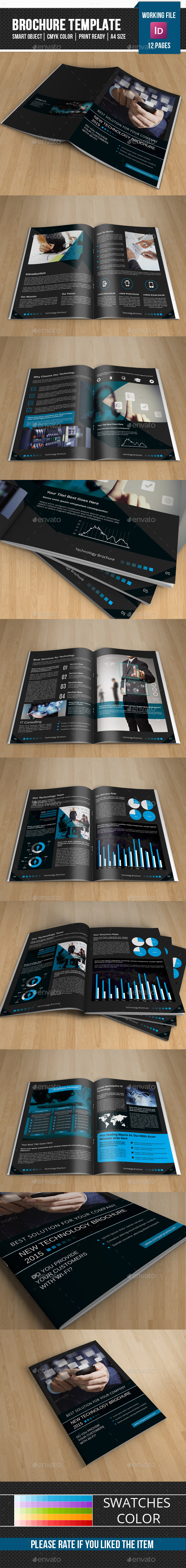GraphicRiver Technology Brochure Template-V265 11868912