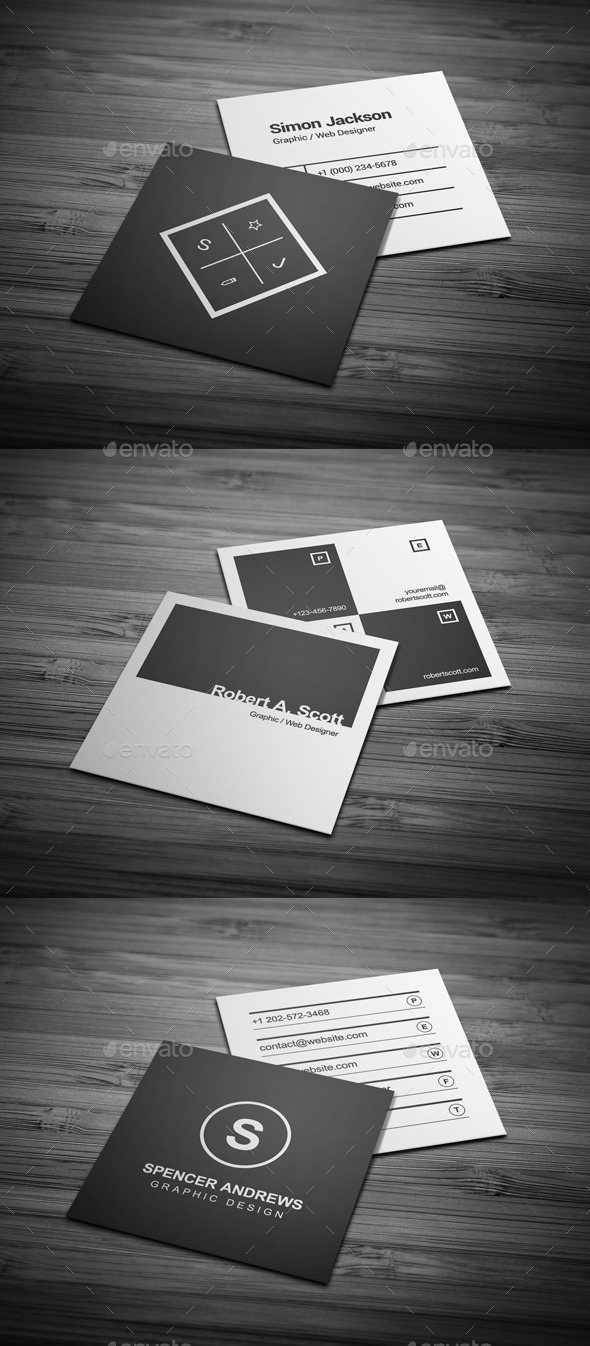 GraphicRiver Business Cards Bundle #12 11868924