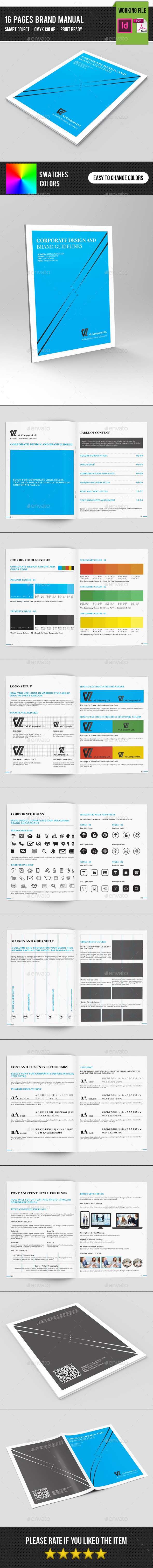 GraphicRiver Brand Manual Template-V01 11868930