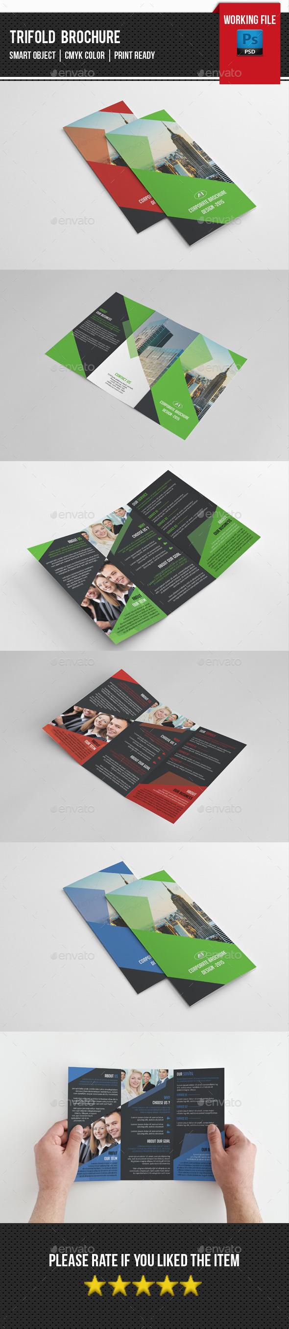 GraphicRiver Corporate Trifold Brochure-V236 11868939