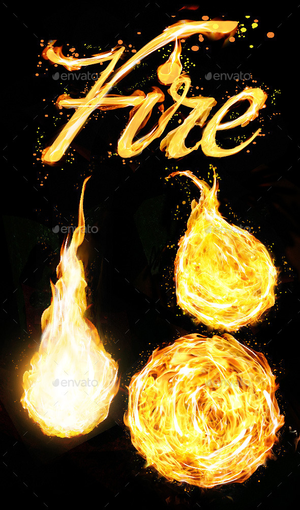 GraphicRiver Fire Elements 11799126