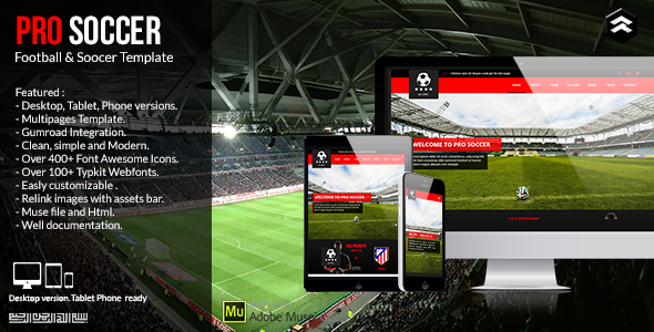 League Templates from ThemeForest