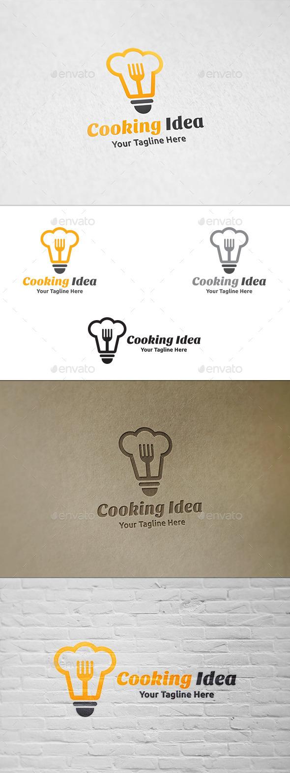 GraphicRiver Cooking Idea Logo Template 11869642