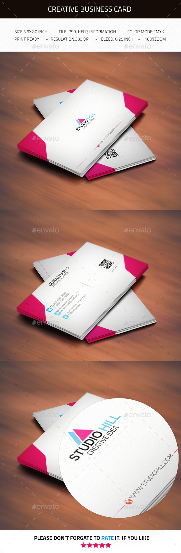 GraphicRiver Creative Business Card V2 11866898