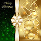 Golden Baubles and Bow - GraphicRiver Item for Sale