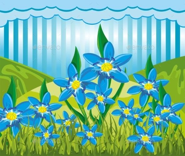 GraphicRiver Scilla Bifolia 11871249