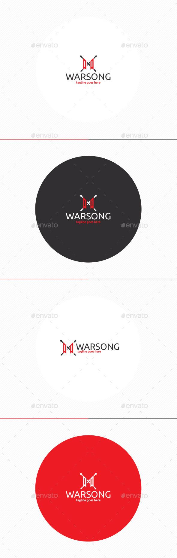 GraphicRiver Warsong Logo 11871521