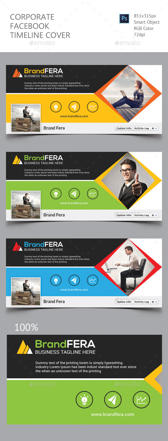 GraphicRiver Corporate Facebook Timeline Cover 11871522