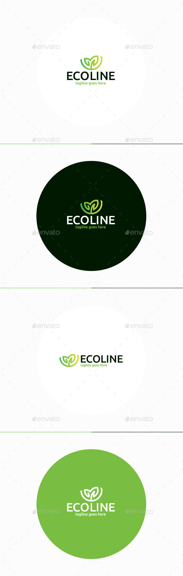 GraphicRiver Eco Line Logo 11871559