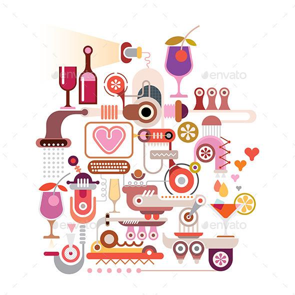 GraphicRiver Cocktail Machine 11871660