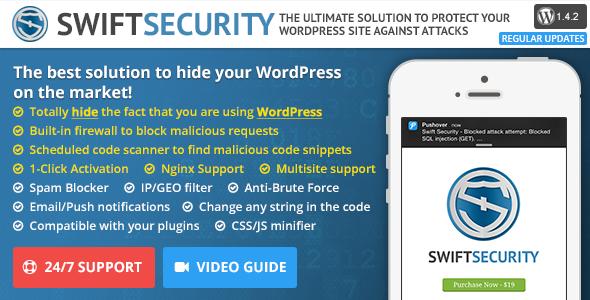 Swift Security Bundle - Hide WordPress, Firewall, Code Scanner - CodeCanyon Item for Sale