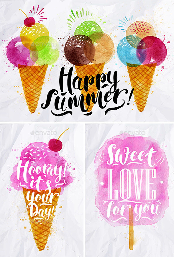 GraphicRiver Summer Sweets 11871927