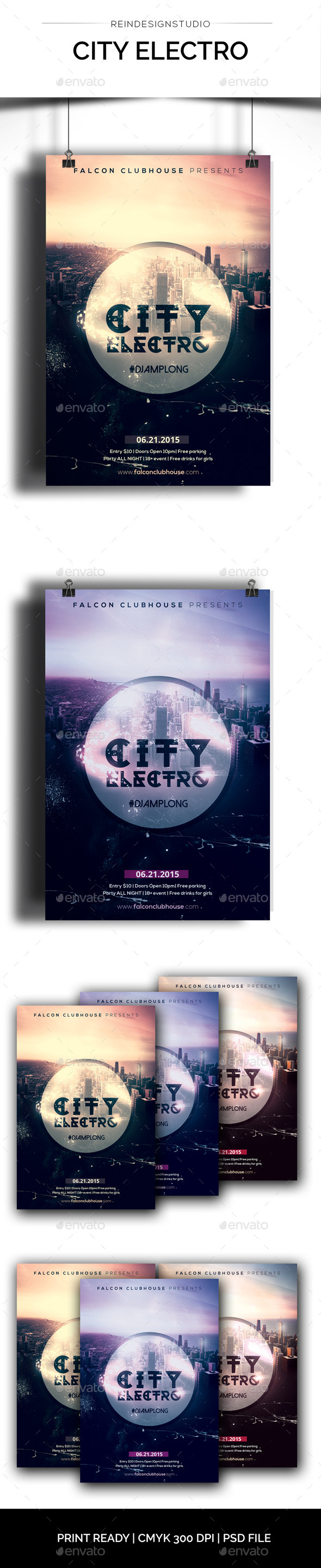 GraphicRiver City Electro 11872158