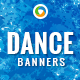Dance School Banners - GraphicRiver Item for Sale