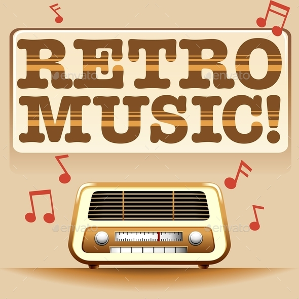 GraphicRiver Retro Music 11872570