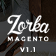 ZORKA – Wonderful Fashion eCommerce Magento Themes - ThemeForest Item for Sale
