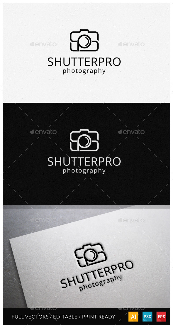 GraphicRiver Initial Photography Logo 11872581