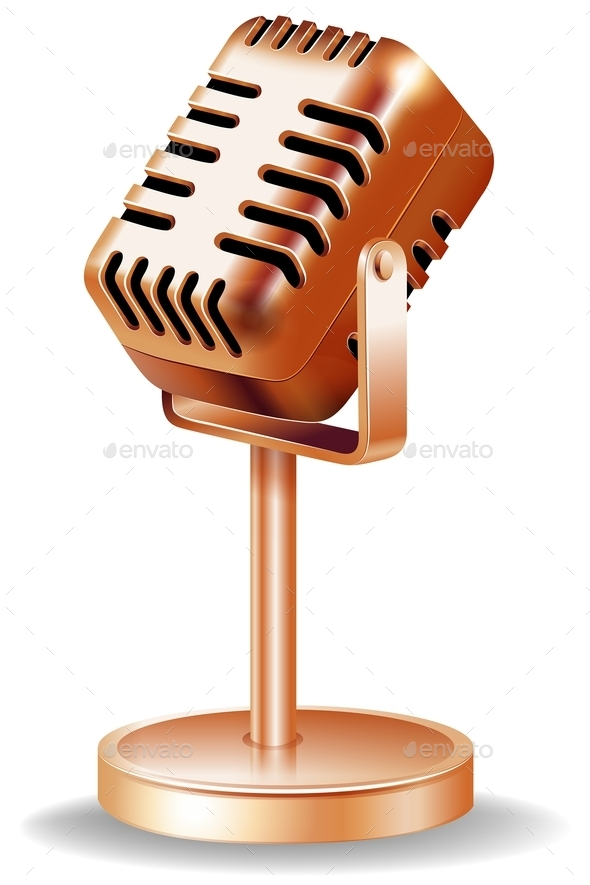GraphicRiver Microphone 11872587