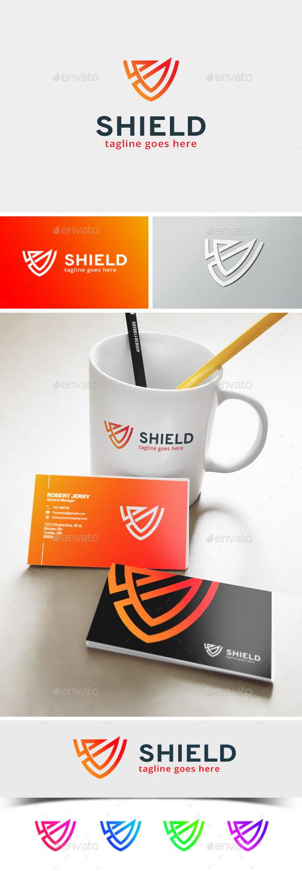 GraphicRiver Shield Logo 11872590