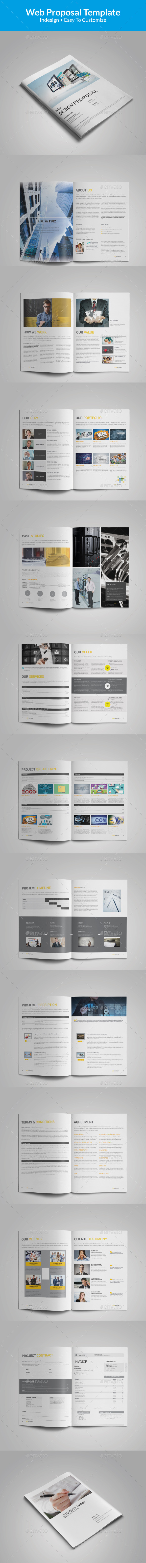 GraphicRiver Indesign Proposal Template 11872717