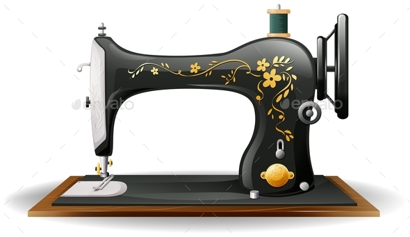 GraphicRiver Sewing Machine 11872920